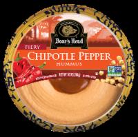 Boar's Head Fiery Chipotle Pepper Hummus
