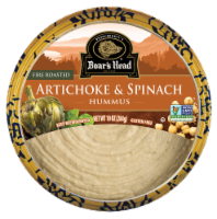 Boar's Head Fire Roasted Artichoke & Spinach Hummus