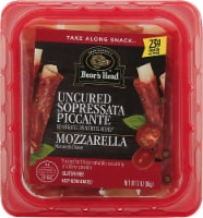Boar's Head Take Along Snack Uncured Sopressata Piccante & Mozzarella Cheese Snacks