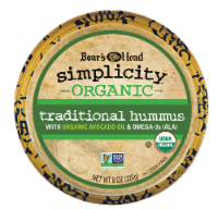Boar's Head Simplicity Organic Traditional Hummus