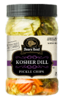 Boar's Head® Kosher Dill Pickle Chips - 26 oz