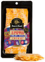 Boar's Head Sliced Bold 3 Pepper Colby Jack Cheese