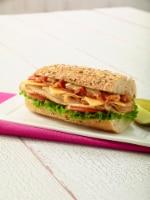 Boar's Head EverRoast American Cheese Half Sub Sandwich