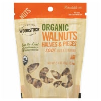 Woodstock Organic Walnuts Halves And Pieces