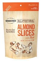 Woodstock  Natural Almonds Thick Sliced