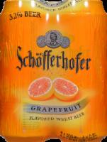 Schofferhofer Grapefruit Flavored Wheat Beer