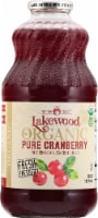 Lakewood Organic Pure Cranberry Juice