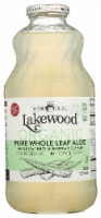 Lakewood Organic Pure Whole Leaf Aloe Juice