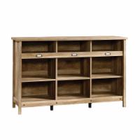 Sauder Adept Craftsman Oak Finish Storage Credenza - 1 ct