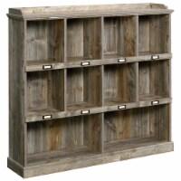Sauder Granite Trace Contemporary 10-Cubby Wood Bookcase in Rustic Cedar - 1