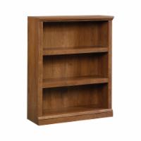 Sauder Oiled Oak Finish 3-Shelf Bookcase - 1 ct