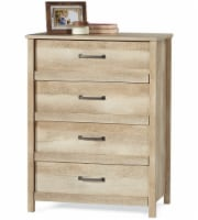 Sauder Cannery Bridge Collection 4-Drawer Chest - Brown