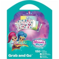 Shimmer and Shine Grab and Go Sticker Book - 1