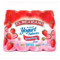 El Mexicano Strawberry Drinkable Yogurt