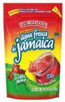 El Mexicano Aqua Fresca de Jamaica Instant Hibiscus Drink Mix