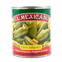 El Mexicano Whole Jalapeno Peppers in Brine
