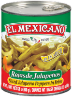 El Mexicano Sliced Jalapeno Peppers in Brine