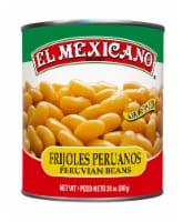 El Mexicano Frijoloes Peruanos Peruvian Beans - 30 oz