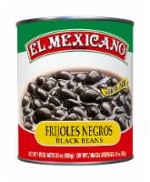 El Mexicano® Fijoles Negros Black Beans - 30 oz