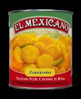 El Mexicano Sliced Pickled Carrots