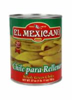 El Mexicano Whole Green Chiles