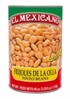 El Mexicano Pinto Beans - 40 oz