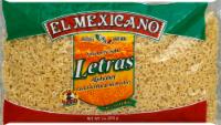 El Mexicano Alphabet Pasta