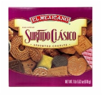 El Mexicano Surtido Clasico Cookies Assortment - 21.52 oz