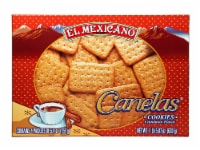 El Mexicano Canelas Cookies - 21.6 oz