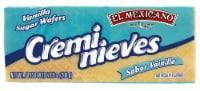 El Mexicano Vanilla Cremi Nieves Sugar Wafers - 7.05 oz