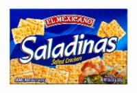 El Mexicano Saladitas Salted Crackers - 18.51 oz