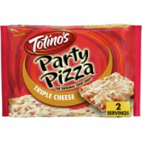 Totino's Triple Cheese Party Frozen Pizza