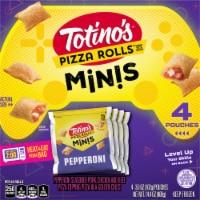 Totino's Pepperoni Pizza Rolls Mini Snack Bites - 4 ct / 3.6 oz