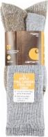 Carhartt® Men's Full-Cushion Steel-Toe Synthetic Work Book Socks - Heather Gray - L