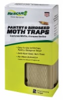 Rescue Glue Pantry & Birdseed Moth Trap (2-Pack) PMT2-BB5 - 1