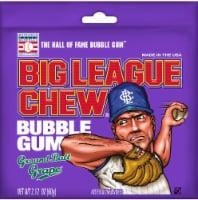 Big League Chew Ground Ball Grape Bubble Gum