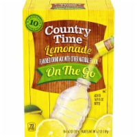 Country Time Lemonade On The Go Drink Mix Packets - 10 ct