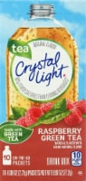 Crystal Light Rasperry Green Tea On-The-Go Drink Mix Packets