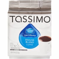Tassimo Maxwell House Cafe Collection House Blend Medium Coffee T Discs