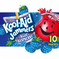 Kool-Aid Jammers Blue Raspberry Flavored Drink Pouches
