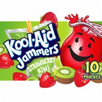 Kool-Aid Jammers Strawberry Kiwi Flavored Drink Pouches