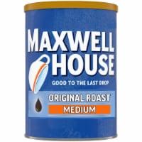 Maxwell House Original Medium Roast Ground Coffee