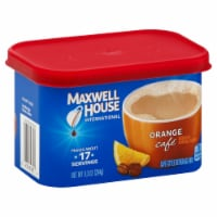 Maxwell House Orange Flavored Cafe Style Instant Beverage Mix, 9.3 Ounce -- 8 per case. - 8-9.3 OUNCE