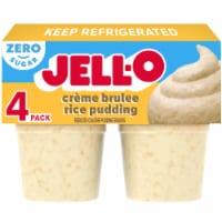 Jell-O Sugar Free Créme Brulée Rice Pudding Snacks