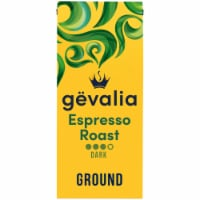 Gevalia Kaffe Espresso Dark Roast Ground Coffee