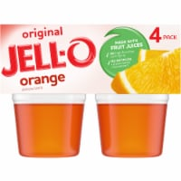 Jell-O Ready-to-Eat Orange Gelatin Snacks