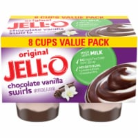 Jell-O Chocolate Vanilla Swirls Pudding Snacks Value Pack