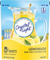 Crystal Light Lemonade Pitcher Packs