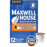 Maxwell House Breakfast Light Roast Blend Coffee K-Cup Pods