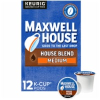 Maxwell House Medium Roast House Blend Coffee K-Cup Pods